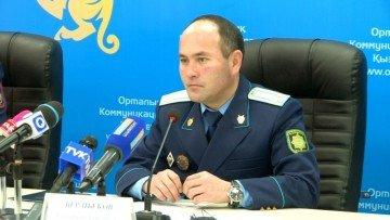 Бауыржан Бердибеков, начальник второго управления прокуратуры ЮКО.