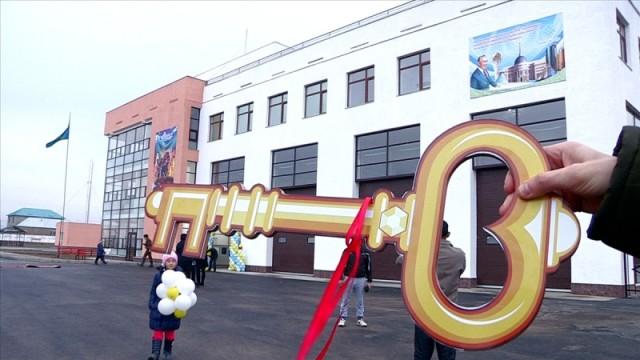 В Шымкенте открылось новое пожарное депо