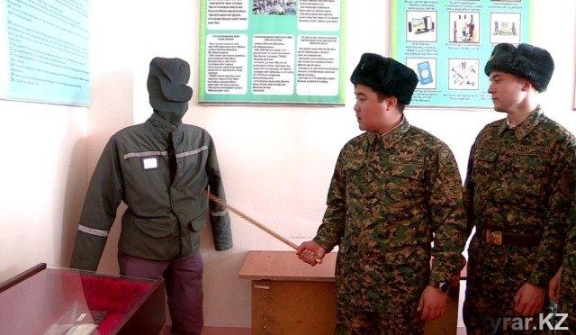 Как живут солдаты в Шымкенте