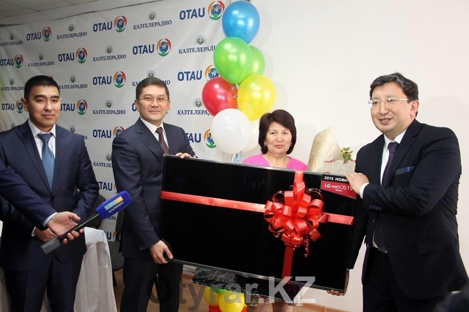 Миллионный абонент «OTAU TV»