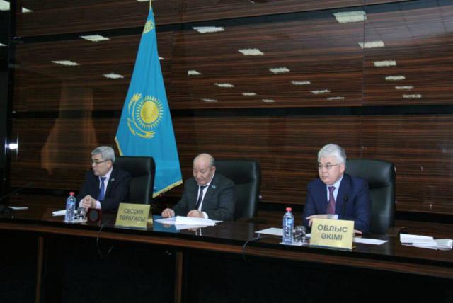 Программа развития ЮКО утверждена на сессии облмаслихата