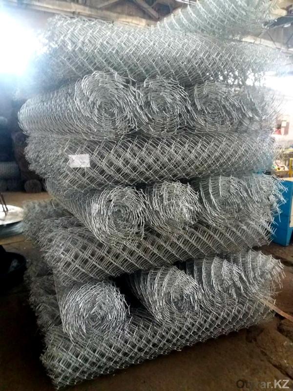 Сетка-рабица шымкентского производства пользуется спросом по всей стране