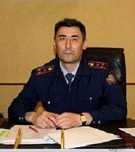 Нурмахан Жалгасов, начальник Аль-Фарабийского ОП
