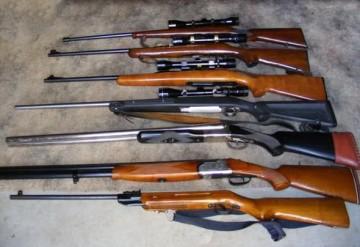 В одном из оружейных магазинов Шымкента похищен целый арсенал