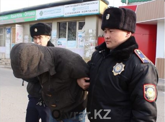 В Шымкенте задержан вор автомобильных госномеров