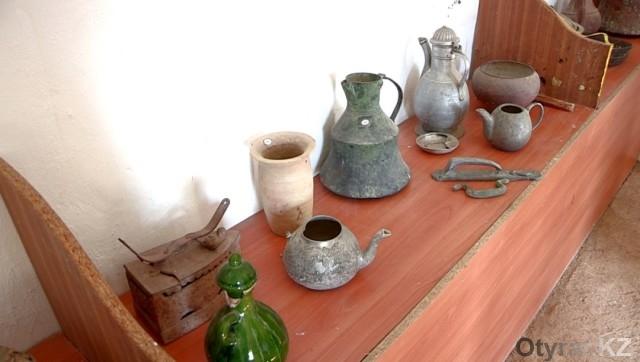 В Отырарском районе ЮКО открыт музей Кажымукана