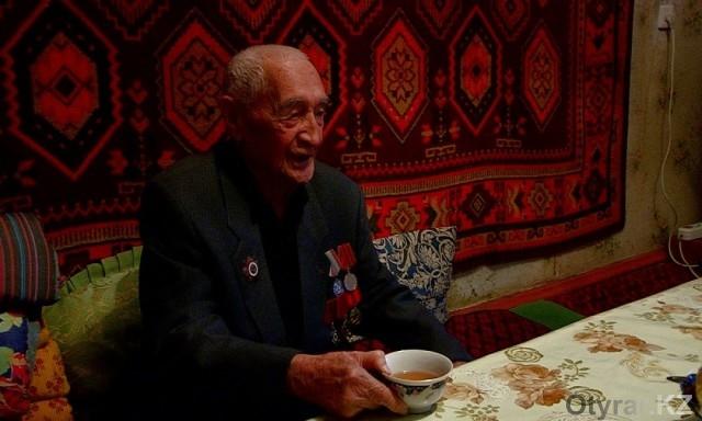 Через 70 лет после войны шымкентский воин получил статус ветерана