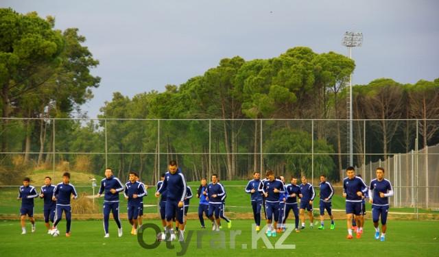 ФК «Ордабасы» прибыл в Турцию на учебно-тренировочные сборы