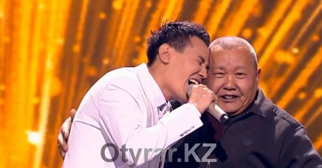 """Победитель """"X-Factor Казахстан"""" спел специально для шымкентских телезрителей"""