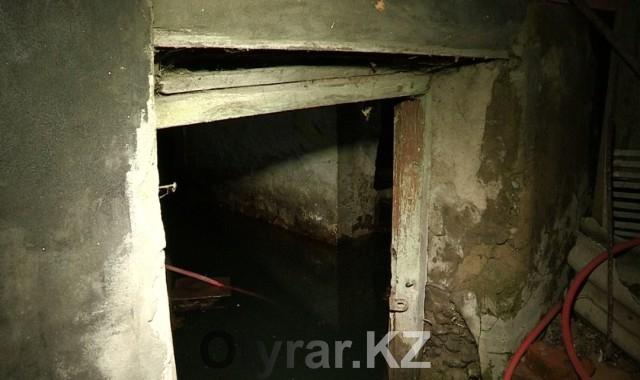 Затопленный подвал семьи Семеновых