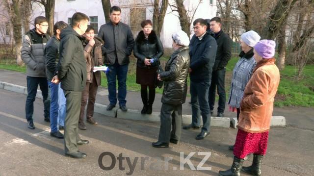 Подарок от акимата в новом году получили жители улицы Терешковой