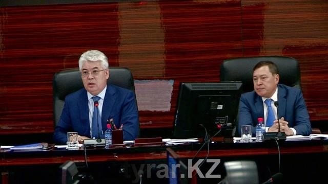 Аким ЮКО на заседании по защите населения от ЧС разгневался от работы чиновников