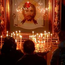 Крещение в церкви. Иисус Христос