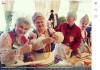 Шымкентцы принимают участие в флешмобе по лепке пельменей