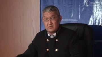 Еркин Оспанов, судья.