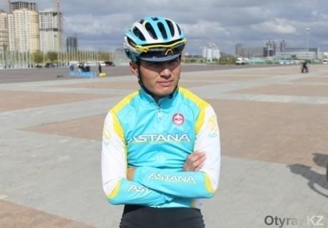 Рекордсмен из Шымкента вошел в состав велокоманды