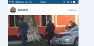 Данияр Мейрхан заставил снять тонировку с машин полицейских