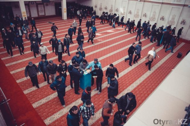 ЧС-ники в мечети