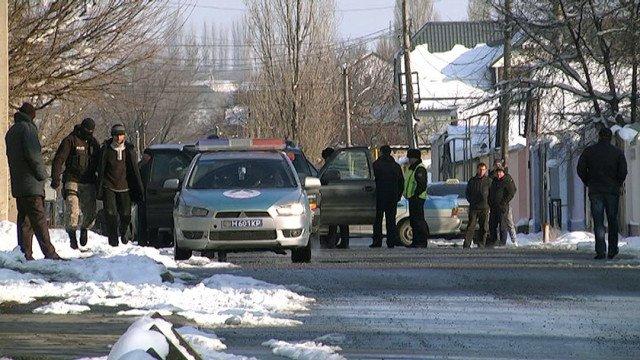 Спецоперация по задержанию Тохтара Тулешова