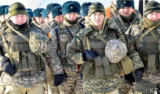 Военные учения в ЮКО