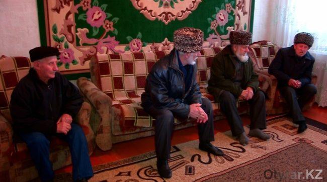 Чеченские Cтарейшины в с. Тогуз
