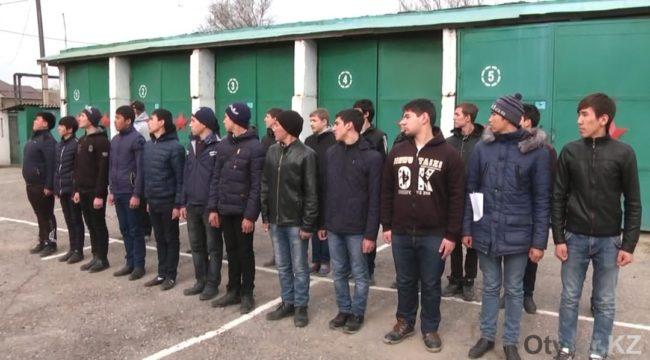 В Шымкенте идет обязательная приписка подростков