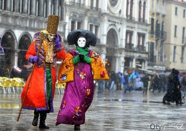Масленичный карнавал в Европе
