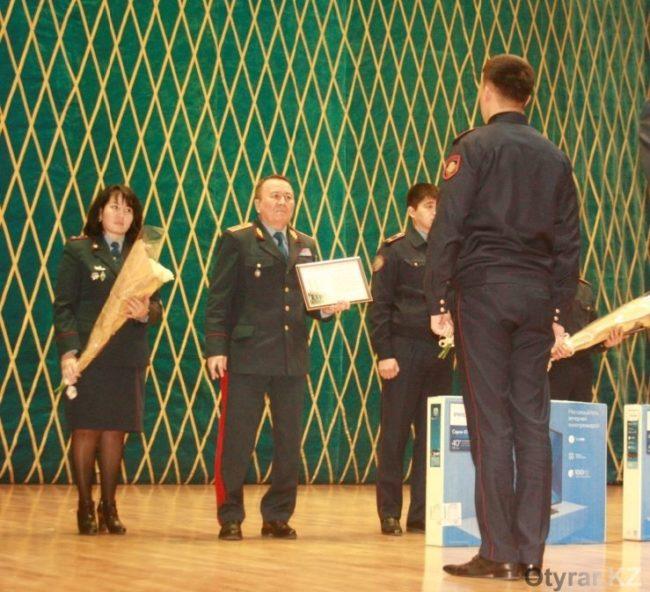 Награждены полицейские