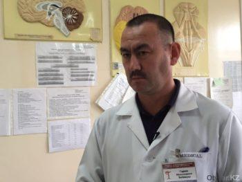 Мухамедкали Сариев, врач нейрохирургического отделения.