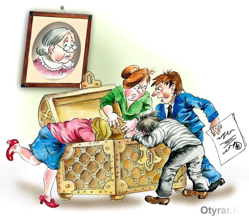 раздел имущества между наследниками в рк