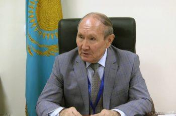Председатель территориальной избирательной комиссии Южно-Казахстанской области Алибек Омиралиев.
