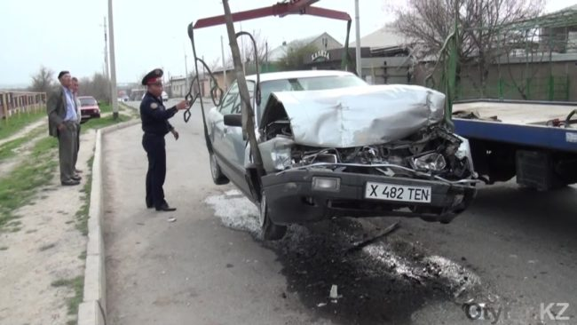 Авария на Казиева