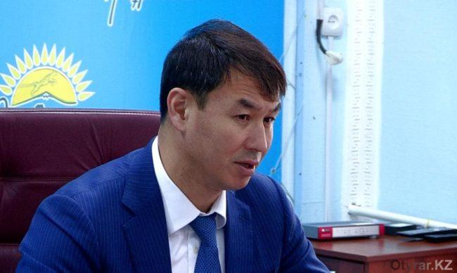 Первый заместитель акима ЮКО Дархан Сатыбалды
