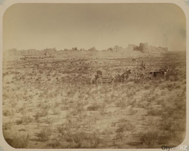 Городище Сауран. 1866 год