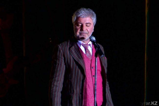 Шымкентцам по душе пришлись песни Сосо Павлиашвили