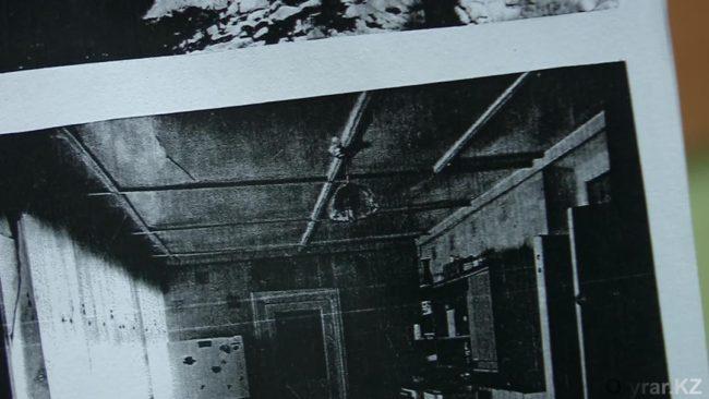 Фотография комнаты, которую нарисовала девочка, с той самой люстрой