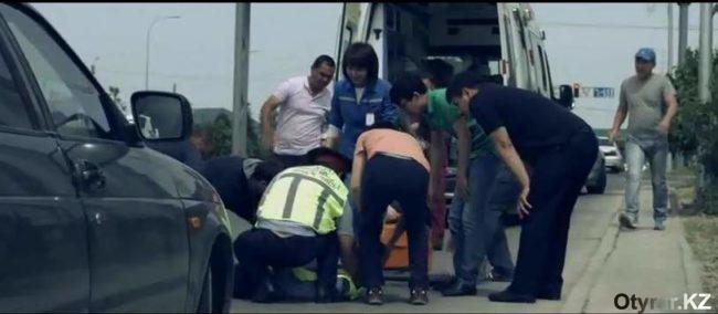 Кадр из нового ролика МПС о работе дорожной полиции