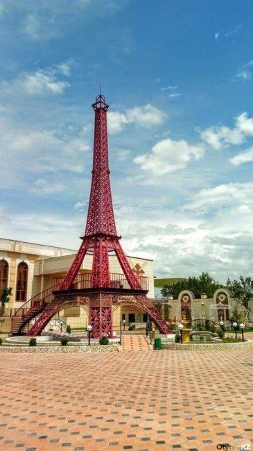 Париж из Султан Рабата