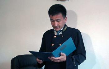 Судья Аль-Фарабийского суда г. Шымкент Ғани Байарыстан.