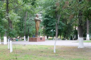 Парк металлургов. Памятник Ленину