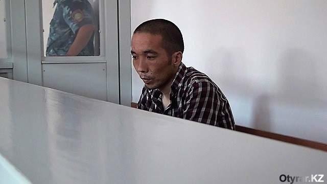 Алишер Аргынбеков, обвиняемый в особо тяжком преступлении