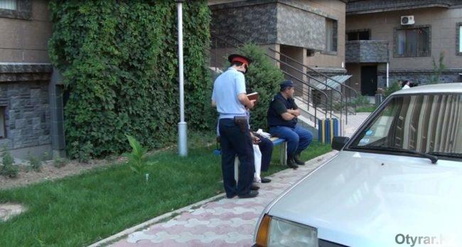 Полицейские Шымкента прокомментировали стрельбу в многоэтажке