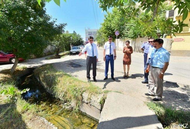 Аким Шымкента отреагировал на видео с жалобами на плохое состояние улиц города