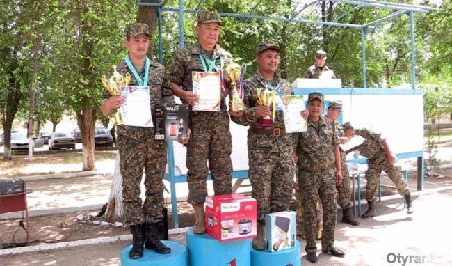 Военнослужащие из Кызыл-Орды стали самыми метким стрелками