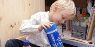 В ЮКО возросли случаи отравления бытовой химией среди детей