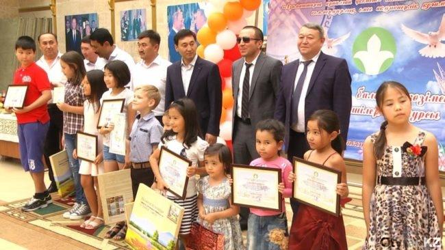 """В Шымкенте проходит выставка """"Казахстан глазами детей"""""""