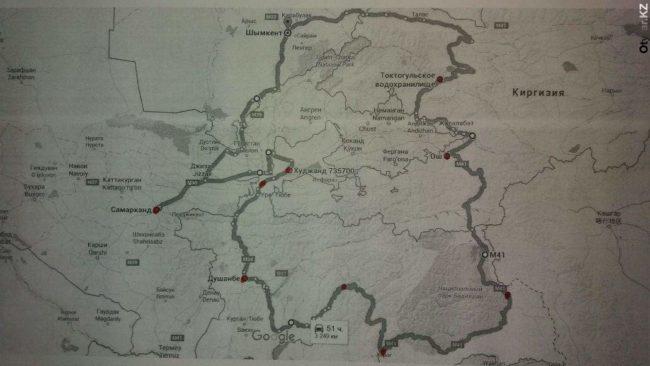 Мотоциклисты Шымкента отправляются на самый высокий перевал