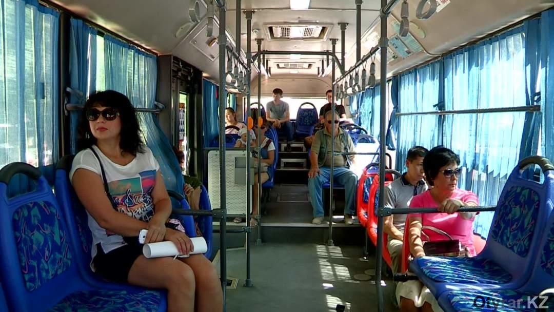 салон пассажирского автобуса