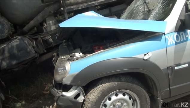 авария машины ДПС1