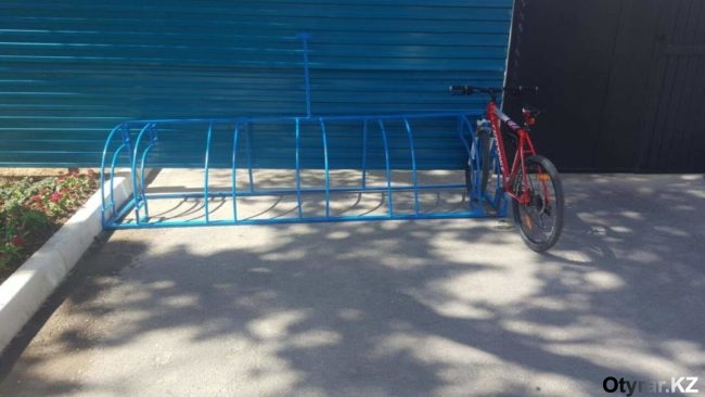 Велопарковки в Шымкенте